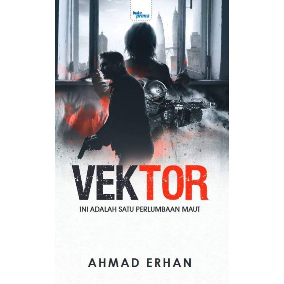 Cover novel Vektor karya Ahmad Erhan