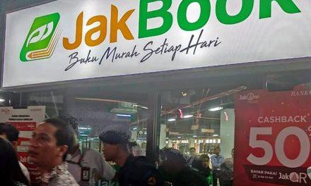 Pemerintah Jakarta Buka Kedai Buku Mampu Milik