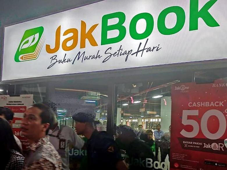 Buku Mampu Milik: JakBook - singkatan kepada Jakarta Book di Jakarta Tengah - gambar Jakarta Post