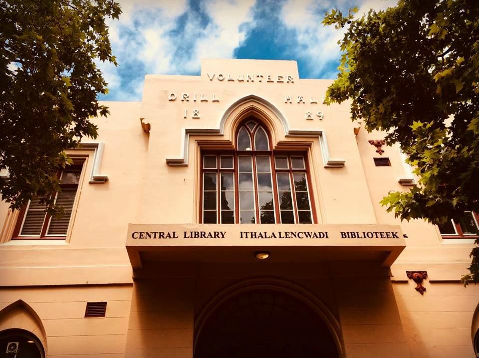 Perpustakaan Pusat bandaraya Cape Town – foto Cape Chameleon