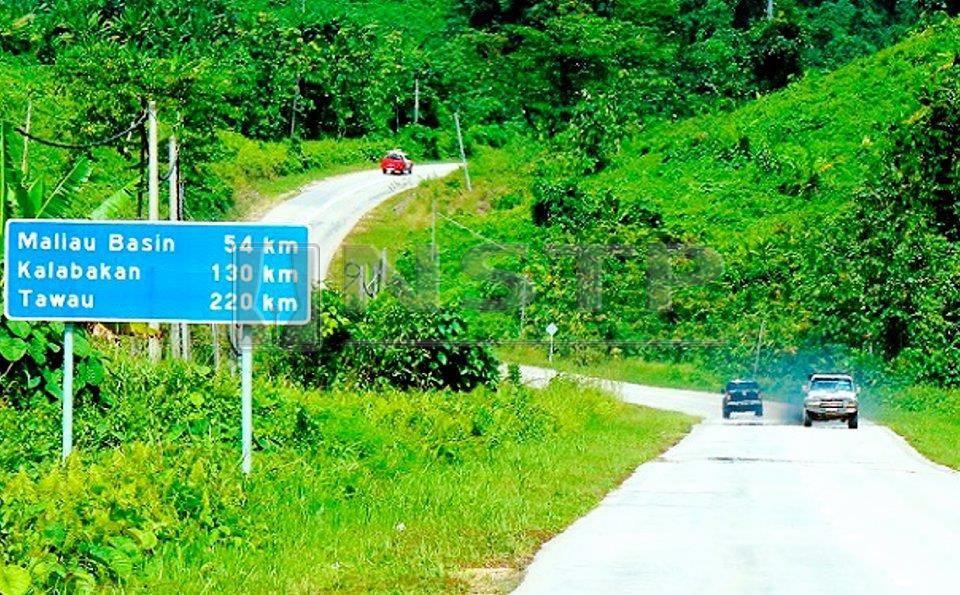 Jalan Kalabakan – Sapulut ~ foto BH