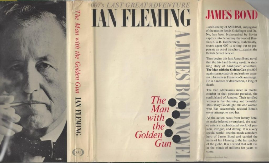 Novel The Man With the Golden Gun – foto flashbak
