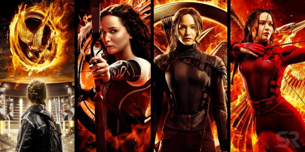 Katniss Everdeen, watak utama siri The Hunger Games lakonan Jeniffer Lawrence ~ foto screenrant