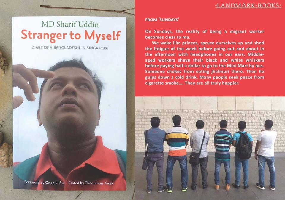 Sinopsis di kulit buku Strangern to Myself ~ foto Singlitstation
