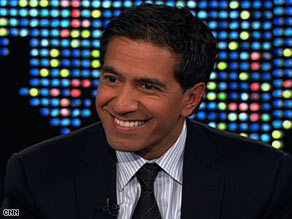 Dr. Sanjay Gupta berkata membaca panjangkan usia dengan mengurangkan stres ~ foto CNN