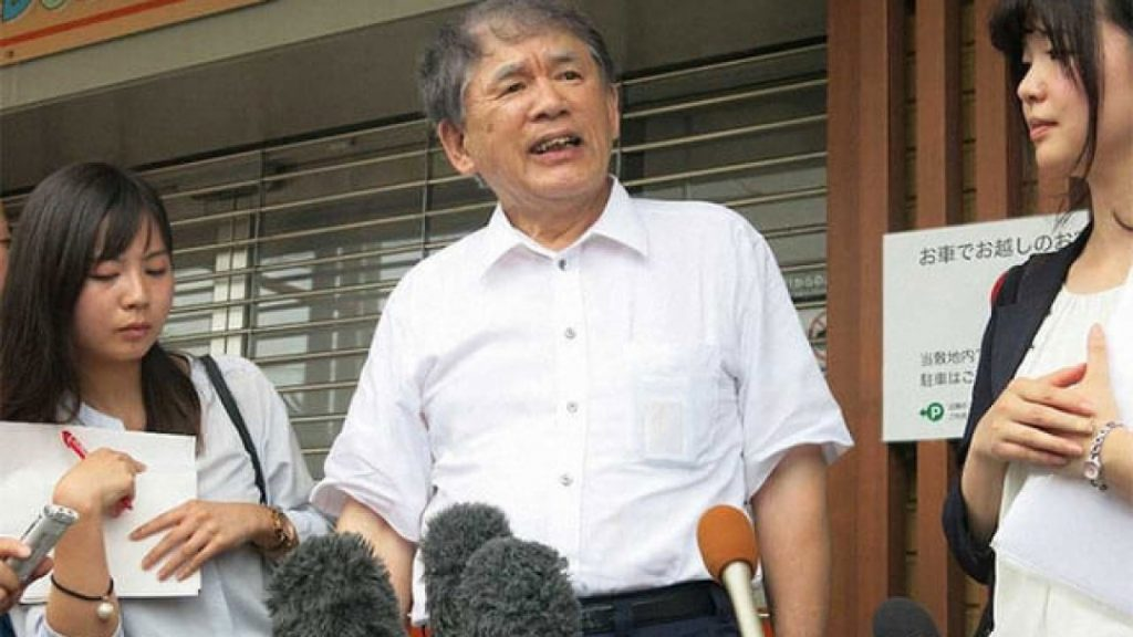 Hideaki Hatta, Presiden KyoAni ketika ditemubual wartawan ~ foto 1realahora