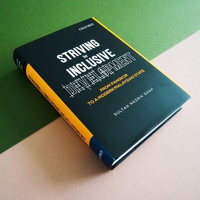 Sultan Nazrin lancar buku terbaru: Kulit buku karya Sultan Nazrin Shah ~ foto explorerofinstagram