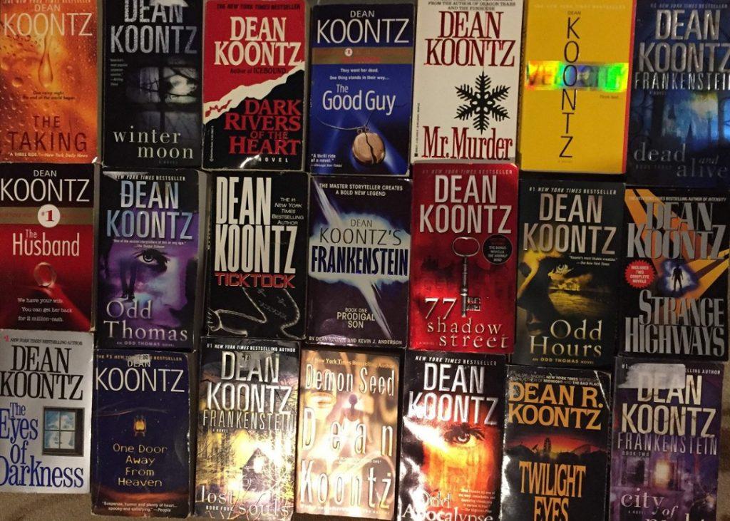 Di antara novel-novel karya Dean Koontz ~ foto amazon