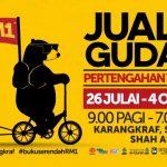 Jualan Gudang: Harga Buku Serendah RM 1.00!