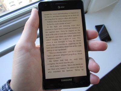 Buku kini boleh dibaca dari telefon ~ foto BusinessInsider