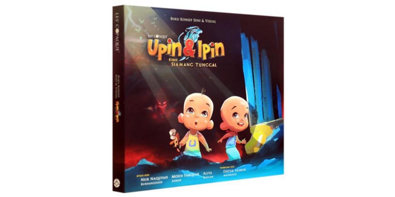 Upin & Ipin: Filem Keris Siamang Tunggal Dijadikan Buku