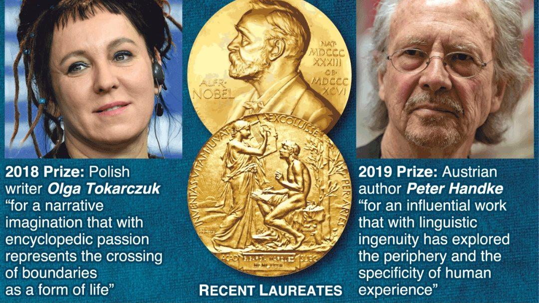 Penulis Eropah Menangi Hadiah Nobel Sastera