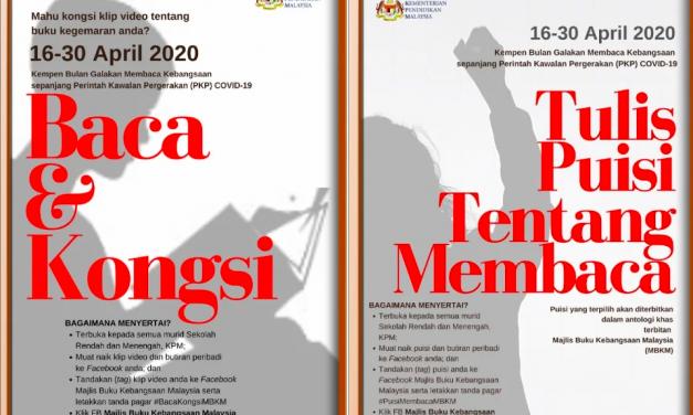 Pertandingan Kongsi Video Resensi Buku dan Tulis Puisi MBKM dapat Sambutan!