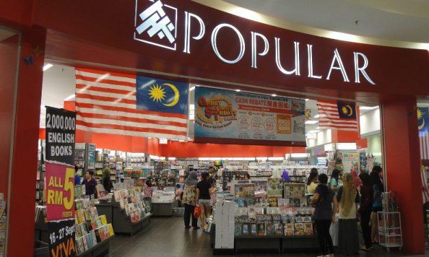 Popular Anjur Kempen Beli Buku Sambil Menderma