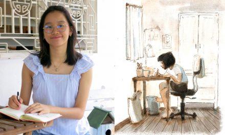 Pelukis Malaysia Erica Eng Terima Anugerah Eisner