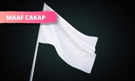 Mari Turunkan Bendera Putih
